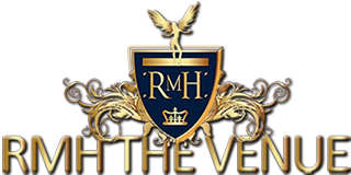 logo for rmh the venue part of royal melbourne hotel